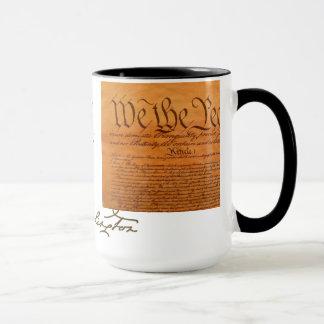 MUG GEORGE WASHINGTON ET LA CONSTITUTION