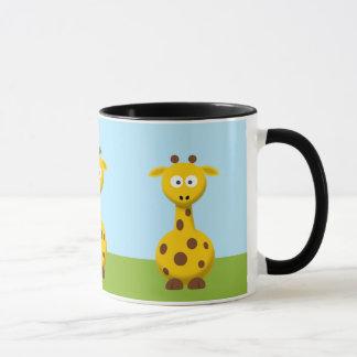 Mug Girafe de bande dessinée