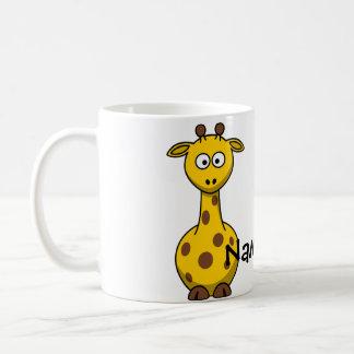 Mug Girafe nommée