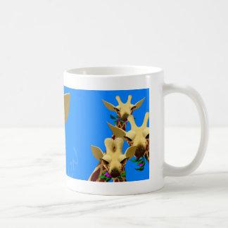Mug girafes