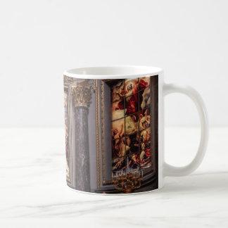 Mug Glassart de retable d'autel d'église