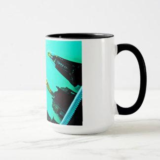 Mug God and virgin