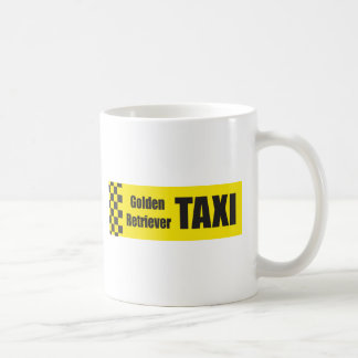 Mug Golden retriever de taxi