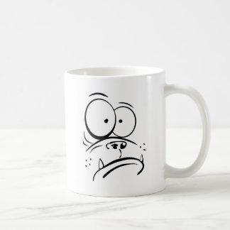 Mug Gorille drôle semblant l'image confuse de bande