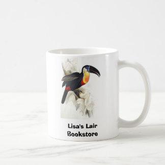Mug Gould - soufre et toucan blanc de Breasted