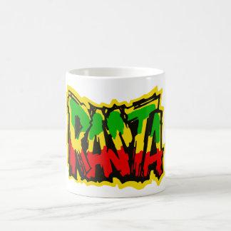 Mug Graffiti de reggae de Rasta