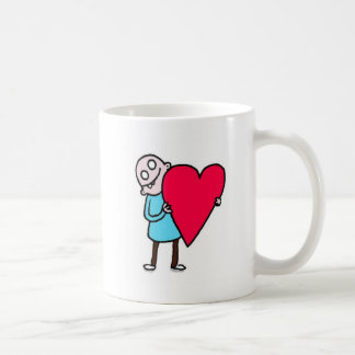 Mug Grand amour, homme laid chauve