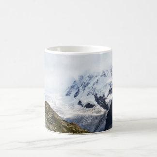 Mug Grand glacier dans les alpes suisses