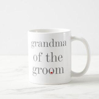Mug Grand-maman grise des textes de marié
