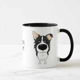 Mug Grand nez border collie