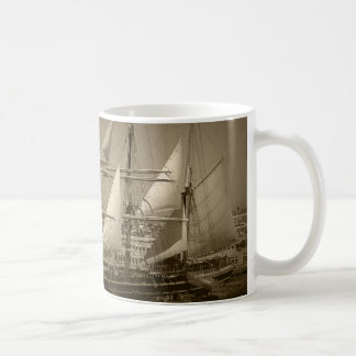 Mug Grand voilier marchand (sépia)