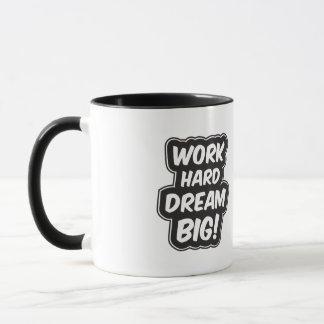 Mug Grande citation inspirée rêveuse