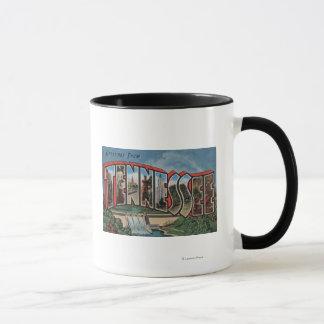 Mug Grande lettre ScenesTennessee du Tennessee