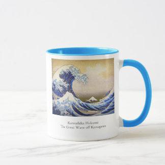 Mug Grande vague vive par Hokusai