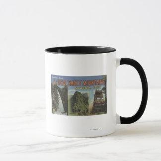 Mug Grandes scènes de lettre - Mts fumeux. Parc
