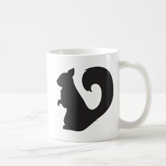 Mug Graphique de silhouette de région boisée de
