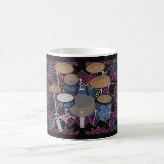 Mug Graphiques de kit et de fractale de tambour :