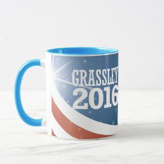 Mug Grassley - mandrin Grassley 2016