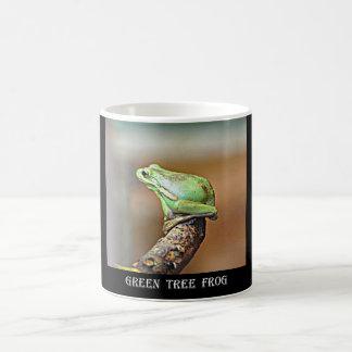 Mug Grenouille d'arbre verte de la Louisiane