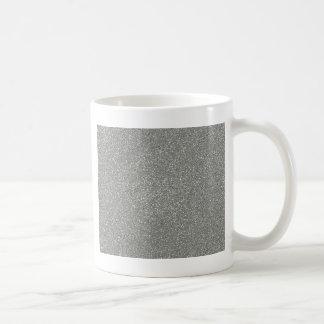 Mug Gris de glacier de PANTONE avec le scintillement