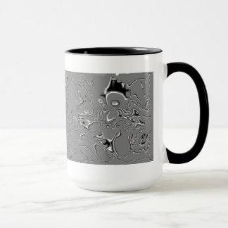 Mug Gris/noir
