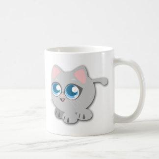 Mug Gros chaton gris mignon