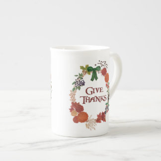 Mug Guirlande d'automne de thanksgiving à customiser
