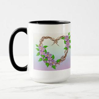 Mug Guirlande florale