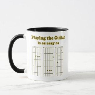 Mug Guitare aussi facile qu'ABC
