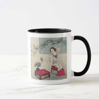 Mug Habillage pendant le matin