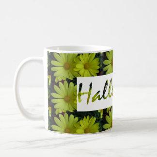 Mug Hallejuah graphique floral