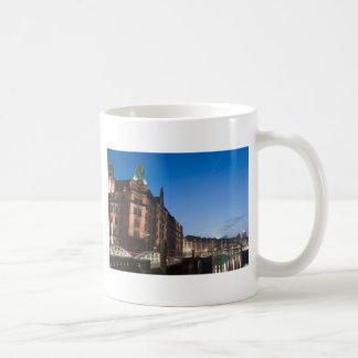 Mug Hambourg Speicherstadt la nuit