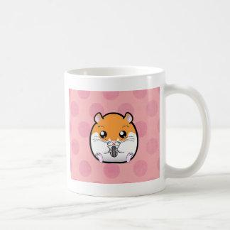 Mug Hamster blanc orange syrien régulier