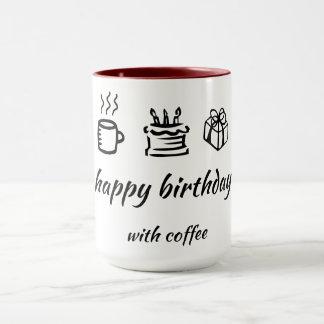 Mug HB with coffee