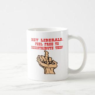 Mug Hé les libéraux redistribuent ce doigt moyen