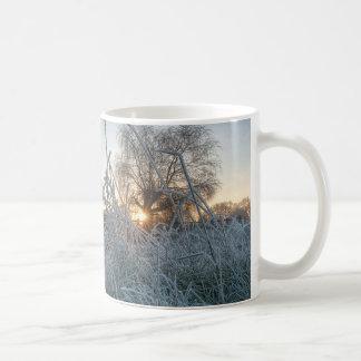 Mug Herbe congelée en parc de Richmond