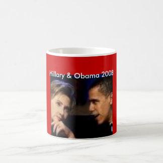 Mug hillary et obama, Hillary et Obama 2008