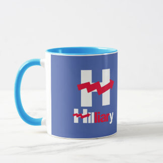 Mug HILLARY TORDUE EST une MENTEUSE - - Anti-Hillary