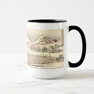 Mug Hokusai : Pont d'hiver