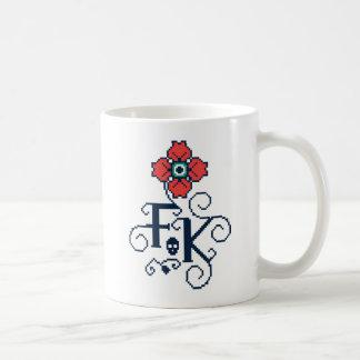 Mug Hommage floral de Frida Kahlo |