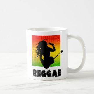 Mug Homme frais Rastafarian de Rasta de reggae jouant