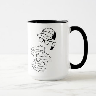 Mug Homme invisible