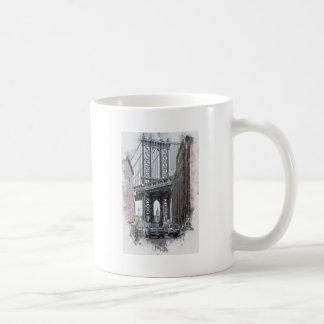 Mug Horizon de pont des Etats-Unis New York Manhattan