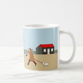 Mug Hutte rouge dans le port de Rye