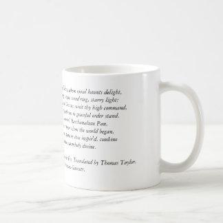 Mug Hymne d'Orphic dans la casserole