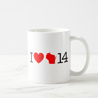 Mug I coeur le Wisconsin 14
