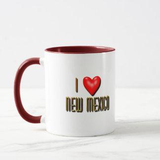 Mug I coeur Nouveau Mexique