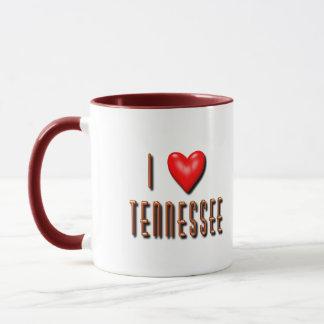 Mug I coeur Tennessee