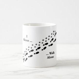 Mug I de l'amoureux des chiens ne marchent jamais