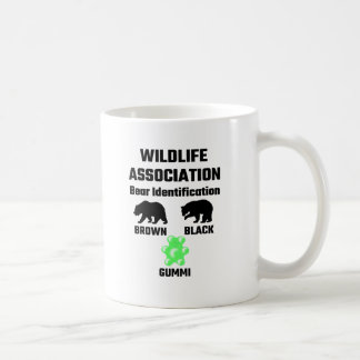 Mug Identification d'ours d'association de faune
